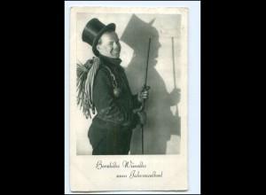 XX13539/ Neujahr Schornsteinfeger AK 1937