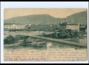 S2664/ Gruß aus Olten AK 1900 Schweiz