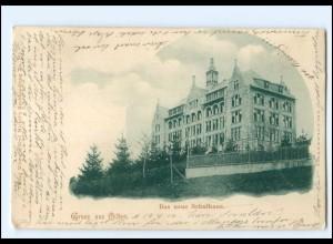 S2668/ Gruß aus Olten Das neue Schulhaus AK 1900 Schweiz