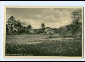 Y19203/ Forsthaus Rosengarten Langenrehm AK 1934