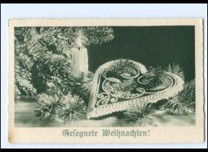Y19120/ Weihnachten Lebkuchenherz AK 1937