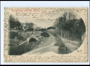 Y19124/ Hamburg Altona Gruß vom Elbberg AK 1901