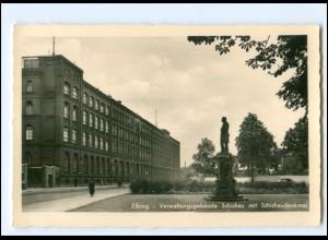 V1739/ Elbing Verwaltungsgebäude Schichau Foto AK Ostpreußen ca.1938
