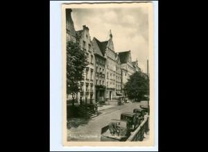 V1715/ Elbing Patrizierhäuser i.d. Spieringstr. Foto AK Ostpreußen ca.1938
