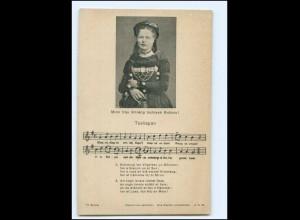 Y19125/ Tusliapan Schweden Trachten Lieder Ak ca.1912