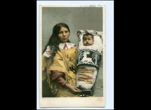 Y19127/ A proud Mother Indianer USA AK