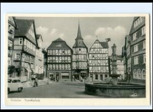 V1711-3580/ Fritzlar Marktplatz AK ca.1955-60