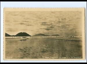 Y19131/ Guaruja La Plage Foto AK Brasilien ca.1930