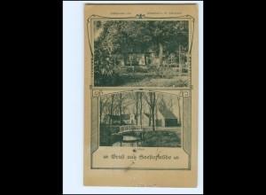 Y19508/ Seestermühle Wirtschaft v. W. Hüllmann AK 1921