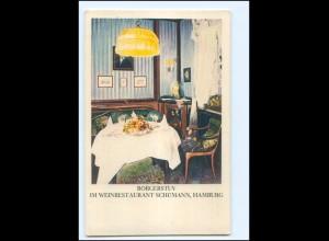 V1731/ Hamburg Weinrestaurant Schümann Börgerstuv AK ca.1925