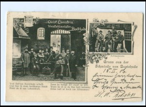 Y19144/ Gruß aus der Schmiede von Buxtehude AK 1906