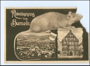 Y19146/ Rattenfängergruß aus Hameln AK 1931