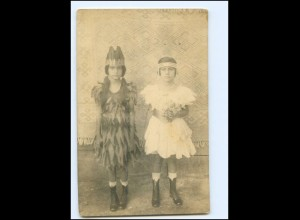 Y19509/ Fasching Mädchen Foto AK ca.1920 USA