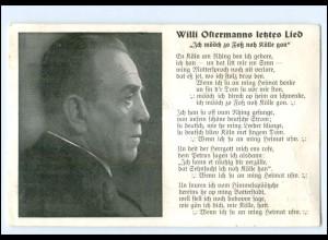 Y19149/ Willi Ostermanns letztes Lied Heimweh nach Köln - AK 1942