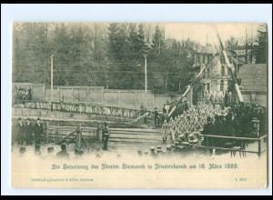 Y19161/ Beisetzung des Fürsten Bismarck in Friedrichsruh 1899 AK