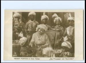 Y19205/ Henny Porten in Die Prinzessin von Neutralien Foto AK Film-Kunst