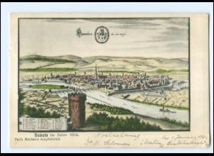 Y19172/ Hameln nach Merian`s Kupferstich 1654 AK 1908