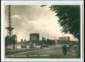 Y19055/ Berlin Charlottenburg Messehallen Foto AK 1952