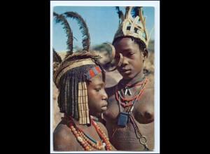 Y19069/ Frauen nackt Afrika AK