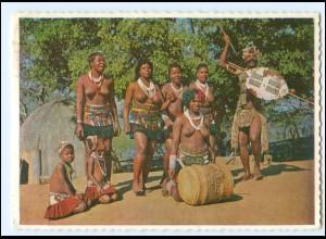 Y19073/ Frauen nackt Süd-Afrika AK