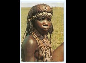 Y19075/ Ovahimba Girl Namibia Frau nackt Afrika AK