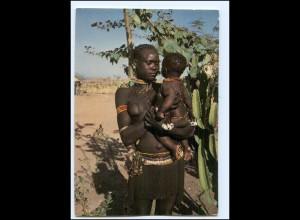 Y19079/ Garoua - Frau nackt mit Kind Afrika AK