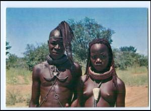 Y19080/ Ovahimbas - Frau nackt Afrika AK