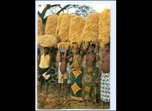 Y19084/ Burkina-Faso Frauen nackt Afrika AK