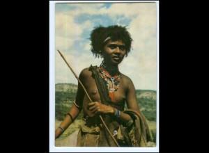 Y19085/ Young Ethiopian Shepherdess Frau nackt Afrika AK