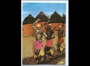Y19086/ Kamerun - Danse à Oudjila Frauen nackt Afrika AK