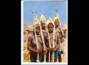 Y19089/ Frauen nackt Afrika AK