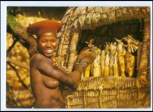 Y19090/ Young Zulu - Frau nackt Süd-Afrika AK