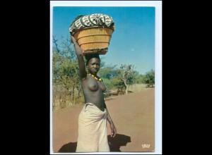 Y19096/ Frau nackt Afrika AK
