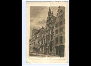 Y19099/ Bremen Essighaus Radierung AK ca. 1925