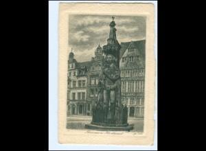 Y19100/ Bremen Roland Radierung AK ca. 1925