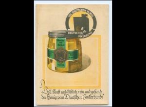 Y19101/ Honig Deutscher Imkerbund AK ca.1930