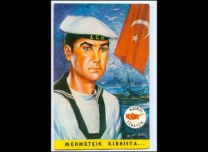 Y19210/ Mehmetcik Kibrista Türkei Militär Marine AK ca.1975