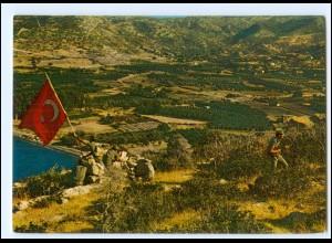 Y19209/ Kahraman Mehmetcik Kibris`ta Türkei Militär AK ca.1975