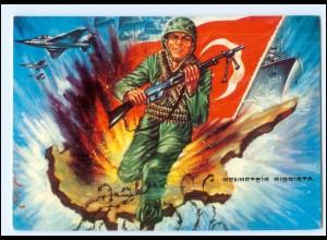 Y19212/ Türkei Militär AK ca.1975