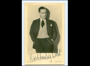 XX13667/ Carl Ludwig Diehl Original Autogramm Ross Foto AK 40er Jahre