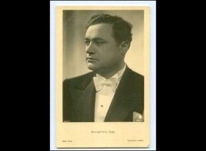 XX13682/ Benjamino Gigli schöne Ross Foto AK ca.1940 Opernsänger
