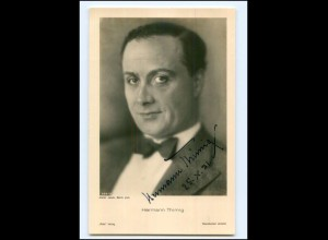 XX13675/ Hermann Thimig Original Autogramm Ross Foto AK 1931