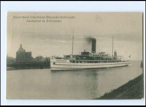 XX14682/ Stoomboot-Veerdienst Stavoren - Enkhuizen Niederlande AK 1926 Fähre