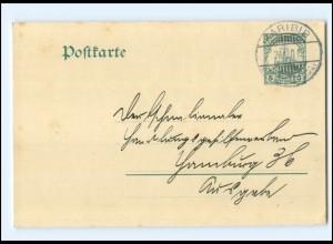 XX13652/ Kolonien Stempel: Karibib Deutsch Südwestafrika 1911 Ganzsache P18