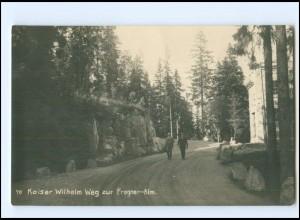 XX13803/ Frogner-Alm Kaiser Wilhelm Weg Reichsmarine Norwegen Foto AK ca.1925