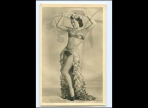 Y19281/ Schauspielerin Margit Symo Ross Foto AK Tanzen ca.1935
