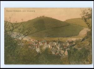 Y19285/ Neckarsteinach mit Dilsberg AK ca.1910
