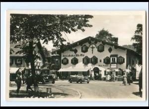 Y19287/ Oberammergau Hotel Alte Post Foto AK ca.1935