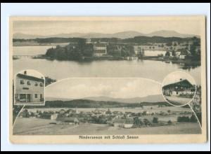 V1783-8221/ Niederseeon mit Schloß Seeon AK 1925