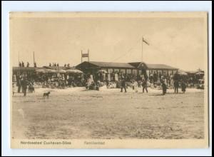 Y19370/ Cuxhaven Döse Familienbad Ak ca.1925